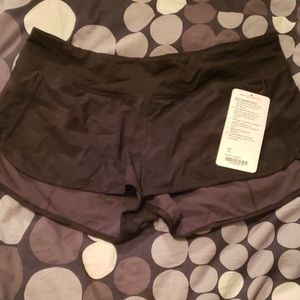 Brand new with tags Lululemon speed shorts